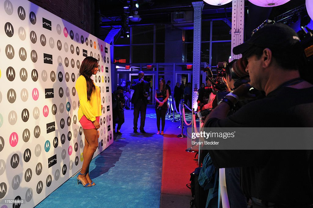 Nana Meriwether attends Moto X Launch Event on August 1, 2013 in New York City.