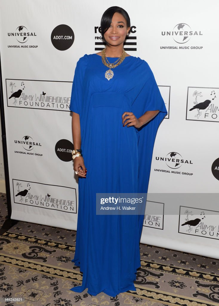 Nana Meriwether attends the 2013 Amy Winehouse Foundation Inspiration Awards and Gala at The Waldorf=Astoria on March 21, 2013 in New York City.
