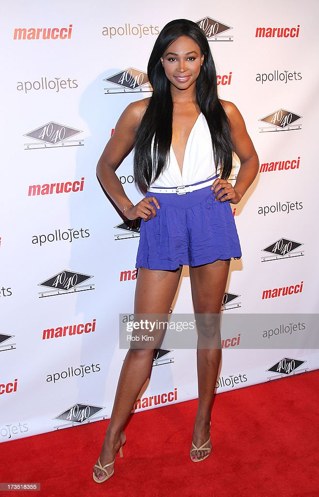 Nana Meriwether attends the Marucci Sports 4th Annual All-Star State Of Mind Celebration at 40 / 40 Club on July 15, 2013 in New York City.