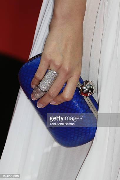 Nancy Ajram attends the World Music Awards 2014 at Sporting MonteCarlo on May 27 2014 in MonteCarlo Monaco