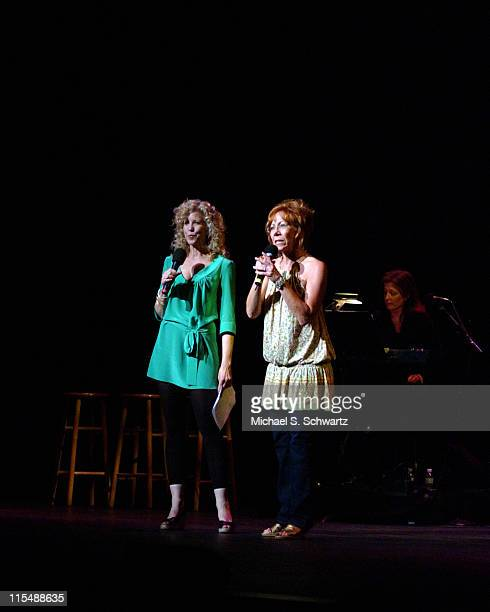Nancy Allen and Mindy Sterling during 'weSparkle Take VI Comedy Tonight' Honoring Jonathan Winters at The Alex Theatre in Glendale California United...