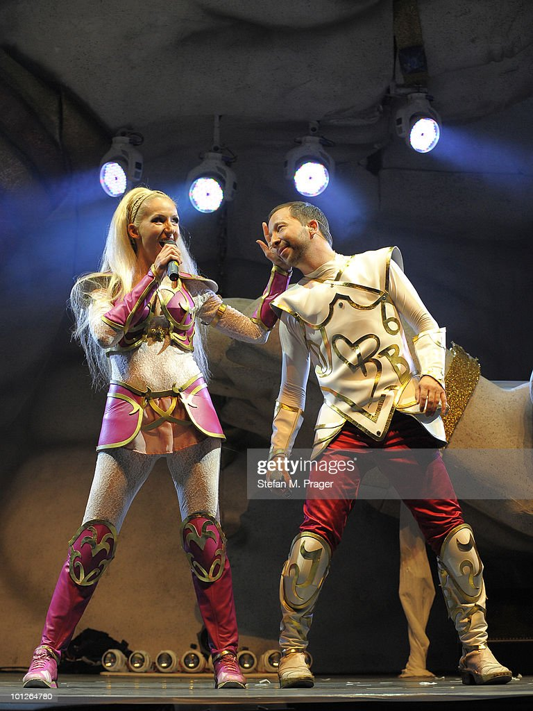 DJ Bobo Performs At Olypiahalle In Munich