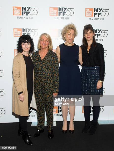 Nancy Buirski Beth Hubbard Susan Margolin and Claire Chandler attend the 'The Rape Of Recy Taylor' screening during the 55th New York Film Festival...