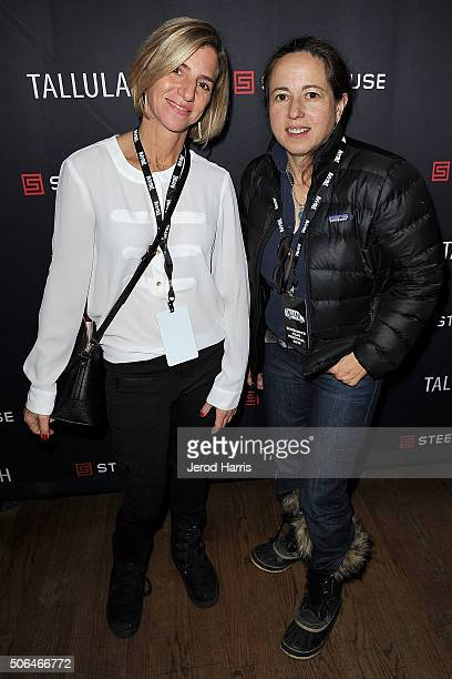 Nancy Collet and Julie Snyder attend the SteelHouse Hosted Tallulah Cocktail Party at Sundance on January 23 2016 in Park City Utah