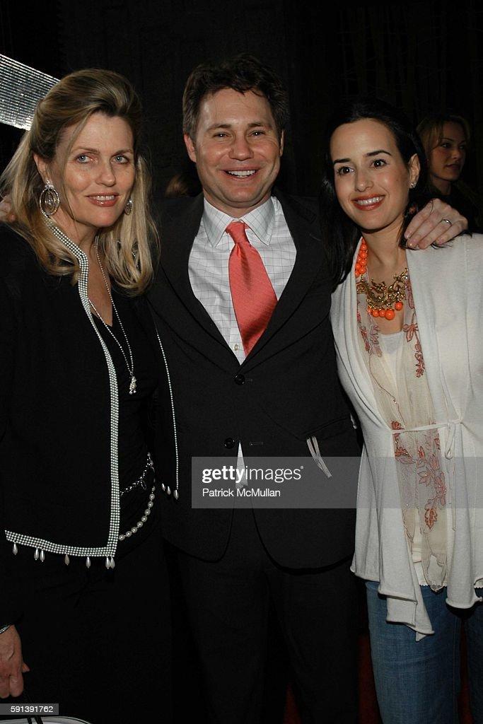 Nancy Davis Jason Binn and Haley LiebermanBinn attend Los Angeles Confidential Magazine PreOscar Bash celebrates Cover Boy Jamie Foxx sponsored by...