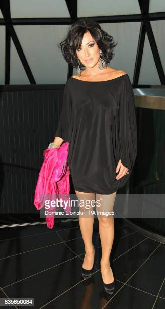 Nancy Dell'Olio at the Richard BalfourLynn's AHG AND MWB Group and Variety Club Children's Charity Party held at the top of the Swiss Re building...