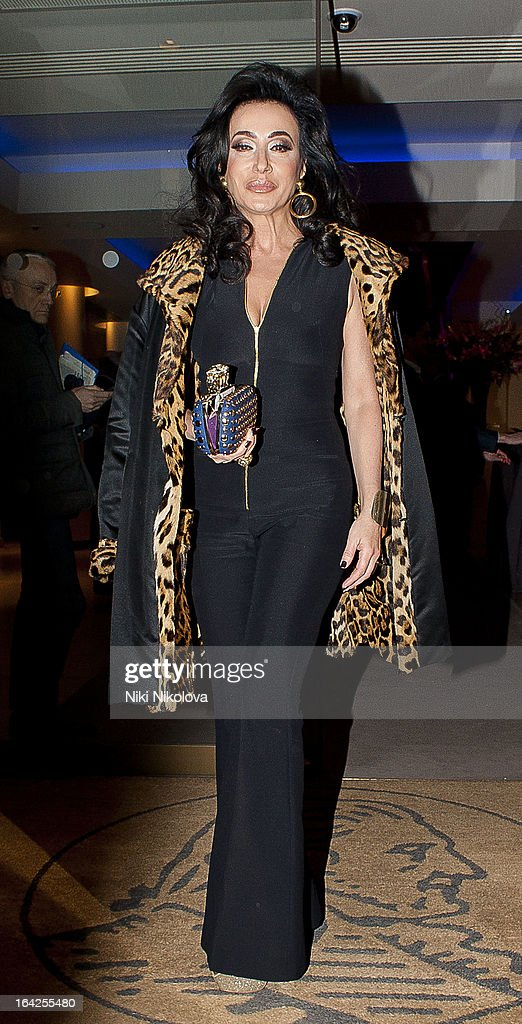 Nancy Dell'Olio attending the 30th Anniversary Auction Christie's sighting on March 21, 2013 in London, England.