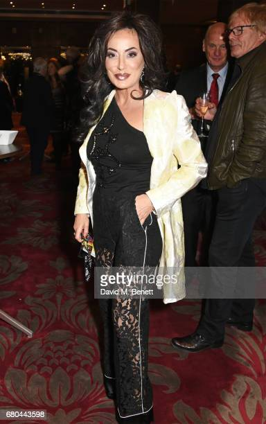 Nancy Dell'Olio attends a VIP screening of 'Beside Bowie The Mick Ronson Story' at The May Fair Hotel on May 8 2017 in London England