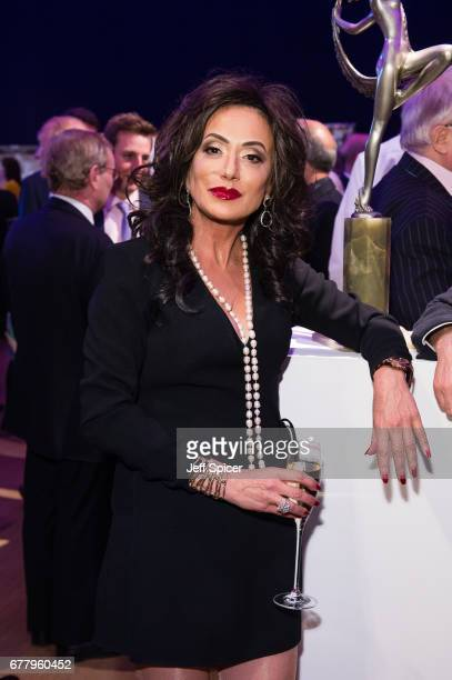 Nancy Dell'Olio attends as auction house hosts champagne reception to preview a selection of the 1000lot estate of the late author Jackie Collins...