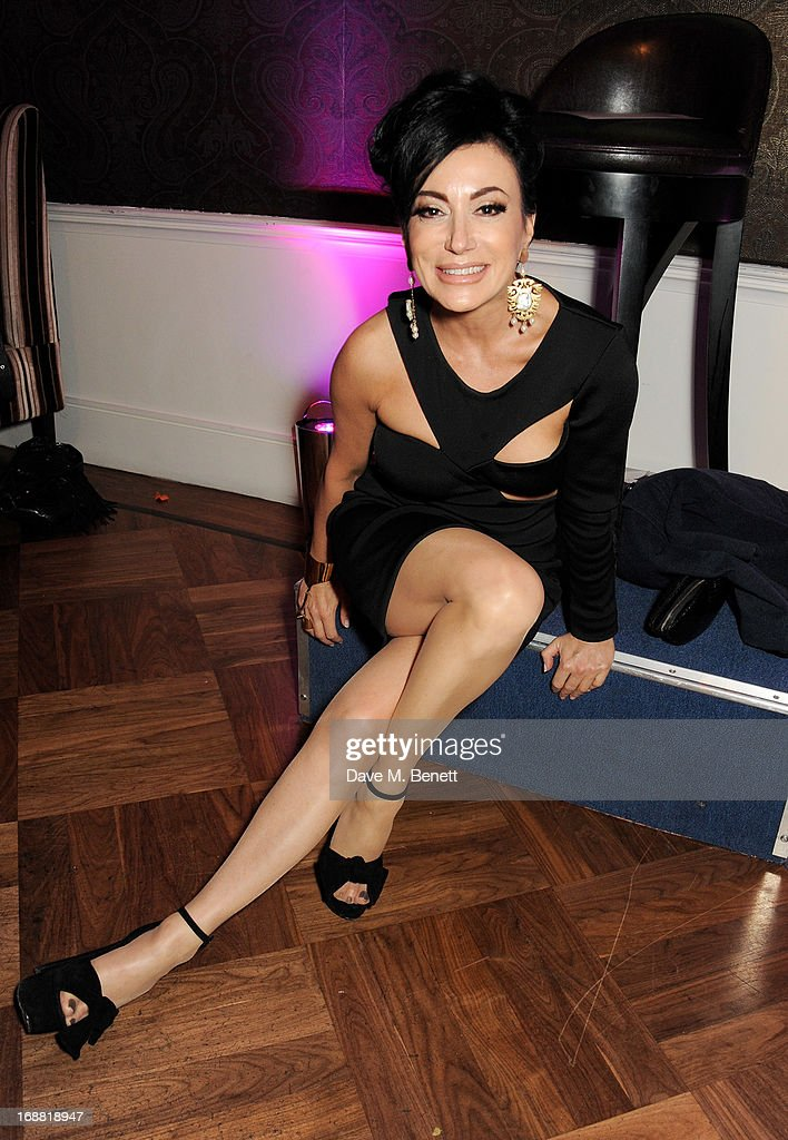 Nancy Dell'Olio attends the annual fundraising art auction in aid of Teenage Cancer Trust at The Groucho Club on May 15, 2013 in London, England.
