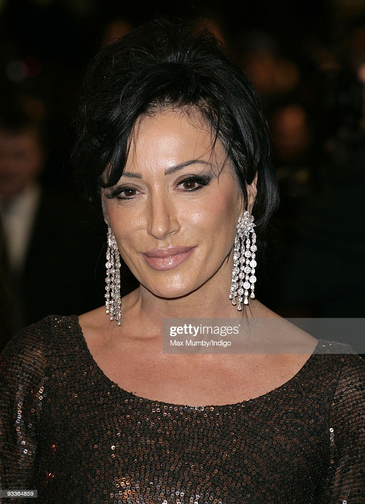 Nancy Dell'Olio attends the Charity Royal Film Performance of 'The Lovely Bones' at the Odeon Cinema Leicester Square on November 24, 2009 in London, England.