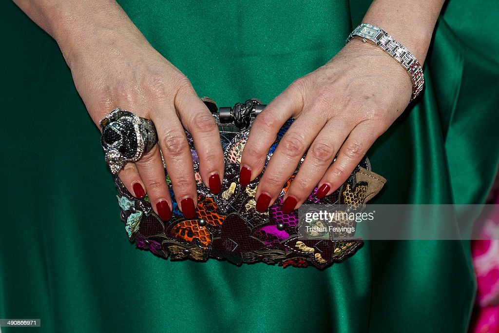 Nancy Dell'Olio (detail) attends the FiFi UK Fragrance Awards at The Brewery on May 15, 2014 in London, England.