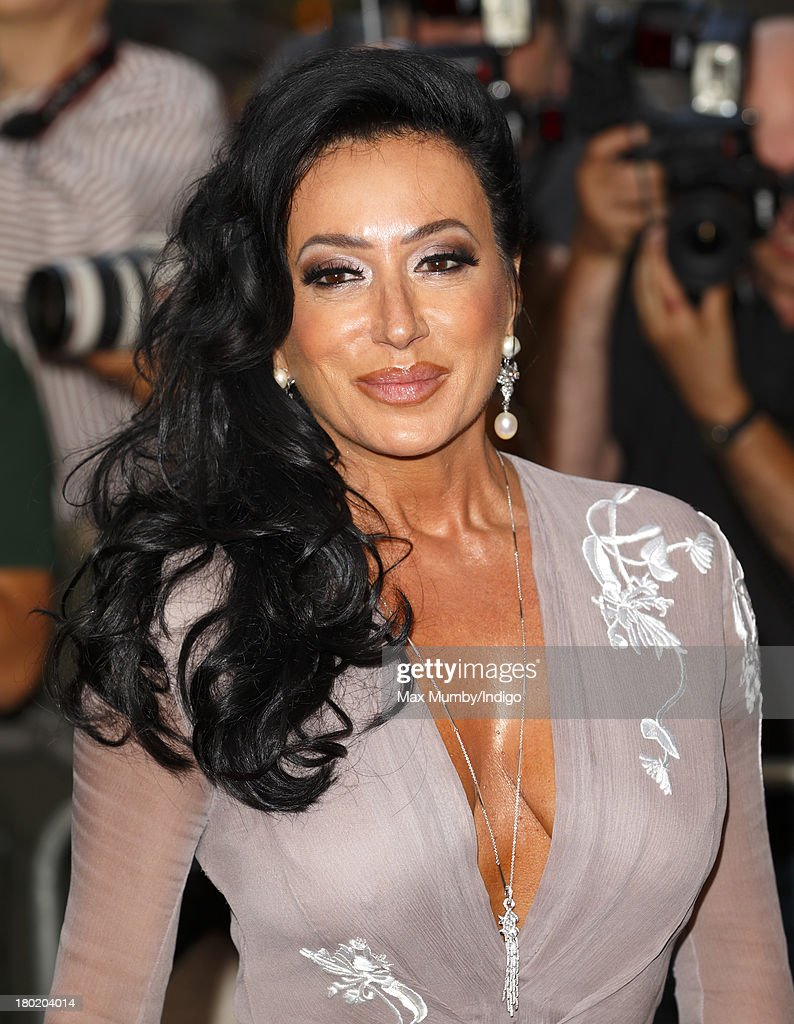 Nancy Dell'Olio attends the GQ Men of the Year awards at The Royal Opera House on September 3, 2013 in London, England.