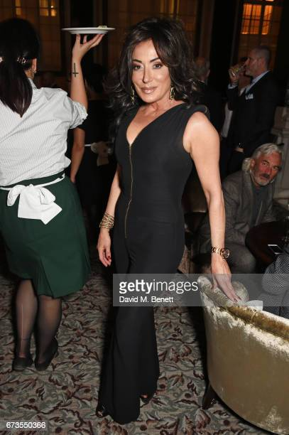 Nancy Dell'Olio attends the launch of The Ned London on April 26 2017 in London England