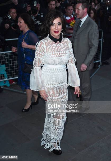 Nancy Dell'Olio attends the Portrait Gala 2017 at the National Portrait Gallery on March 28 2017 in London England