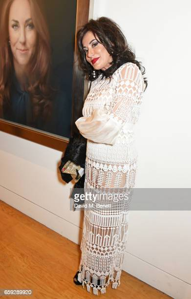 Nancy Dell'Olio attends the Portrait Gala 2017 sponsored by William Son at the National Portrait Gallery on March 28 2017 in London England