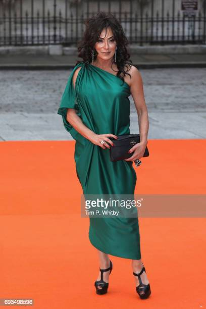 Nancy Dell'Olio attends the preview party for the Royal Academy Summer Exhibition at Royal Academy of Arts on June 7 2017 in London England
