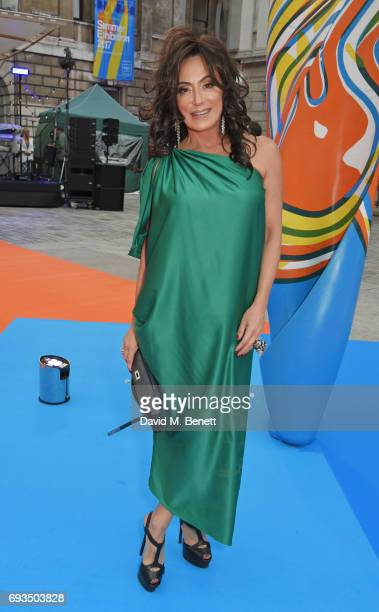 Nancy Dell'Olio attends the Royal Academy Of Arts Summer Exhibition preview party at Royal Academy of Arts on June 7 2017 in London England