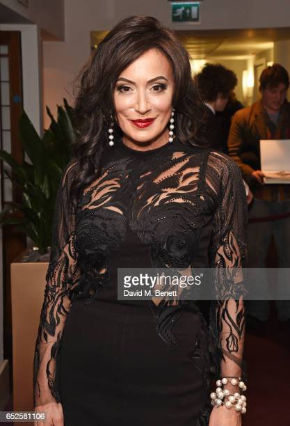 Nancy Dell'Olio attends the Russian Ballet Icons Gala at The London Coliseum on March 12 2017 in London England