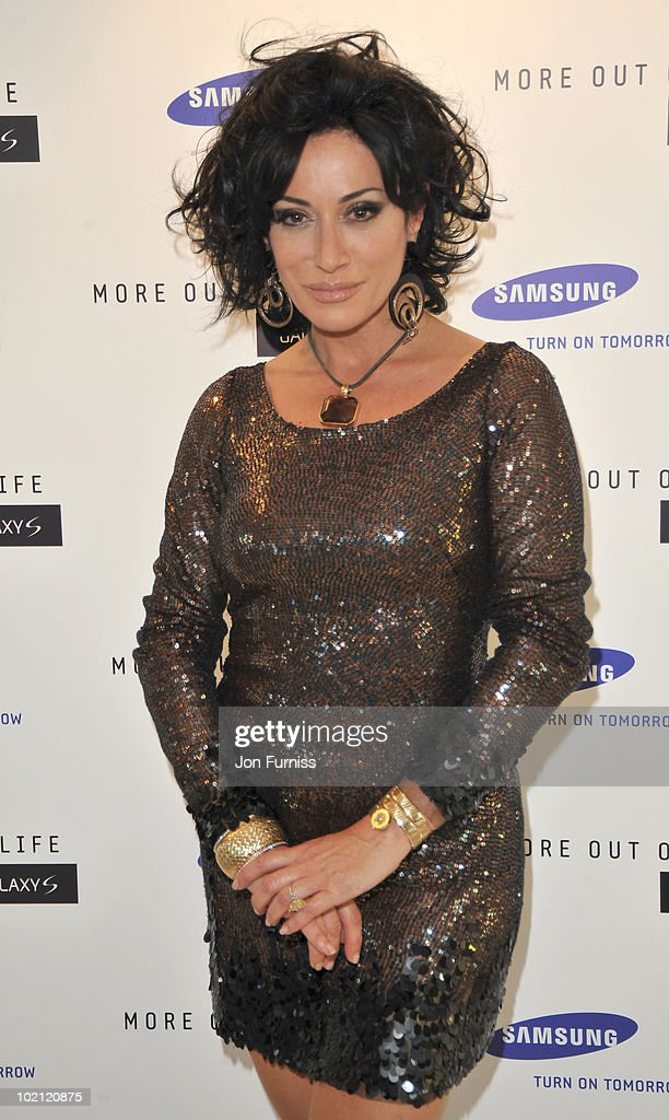 Nancy Dell'olio attends the Samsung Galaxy S launch on June 15, 2010 in London, England.