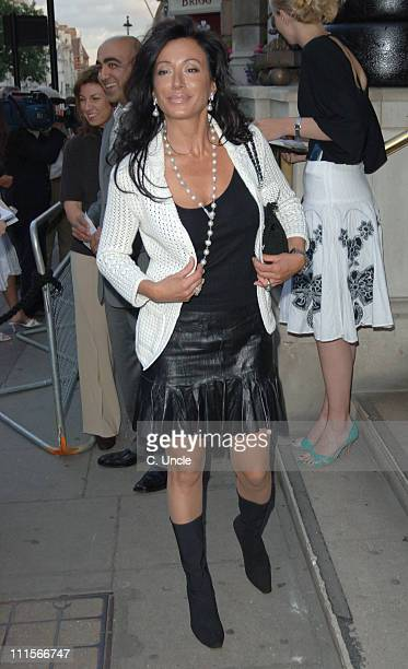 Nancy Dell'Olio during F1 at Fifty Party July 6 2005 at 50 St James's Street in London Great Britain