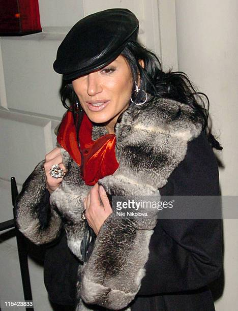 Nancy Dell'Olio during Kraken Opus VIP Launch Party at SKETCH 9 Conduit Street in London Great Britain