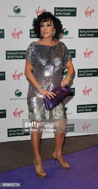 Nancy Dell'Olio during the Ralph Lauren/Sony Ericsson WTA Tour preWimbledon Party at the Kensington Roof Gardens in London