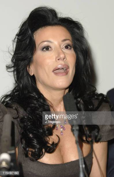 Nancy Dell'Olio during Truce International Preview Screening of 'Merry Christmas' at Soho Hotel Preview Cinema in London Great Britain