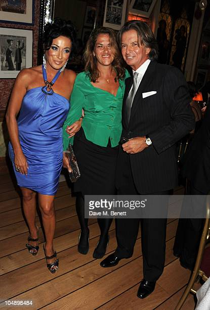 Nancy Dell'Olio Tracey Emin and Richard Caring attend the 2010 Help for Heroes Auction hosted by David Bailey Dylan Jones and Sir Philip Green at...