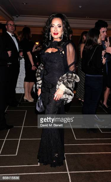 Nancy DelÕOlio attends the English National Opera Spring Gala 2017 at Rosewood London on March 27 2017 in London England