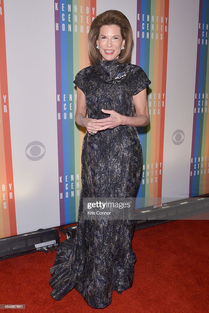 Nancy G. Brinker poses on the red carpet during the The 36th Kennedy Center Honors gala at the Kennedy Center on December 8, 2013 in Washington, DC.