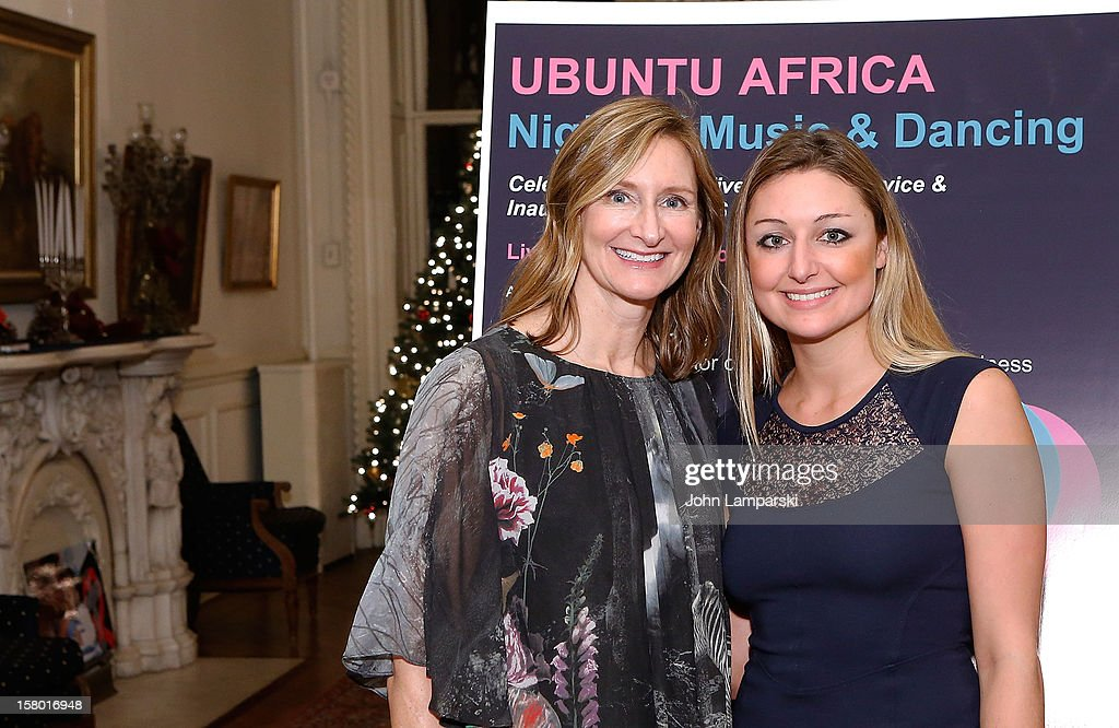 Nancy Gernert and Whitney Johnson attend the 2012 Ubuntu Africa Worlds AIDS Day Benefit at Salmagundi Arts Club on December 8, 2012 in New York City.