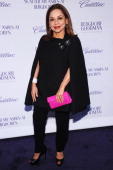 "Nancy Gonzalez attends Bergdorf Goodman and Cadillac host a special screening of ""Scatter My Ashes at Bergdorf's"" in celebration of the store's 111th..."