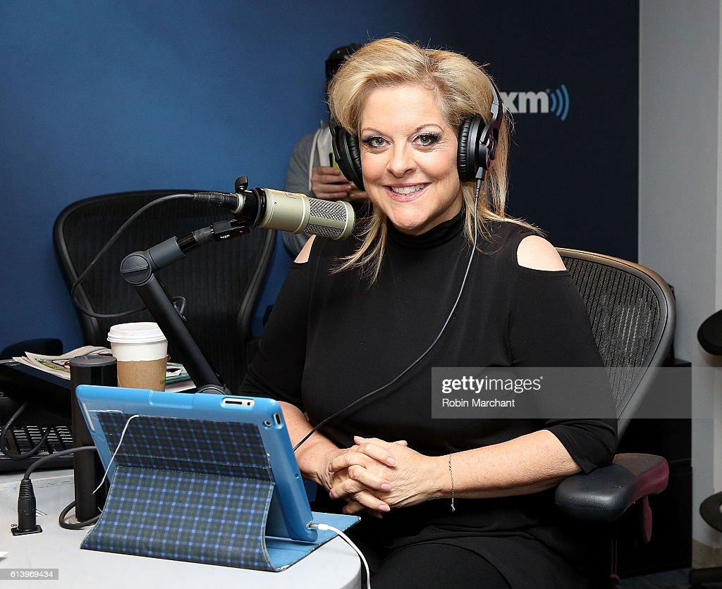 Nancy Grace visits at SiriusXM Studio on October 11, 2016 in New York City.