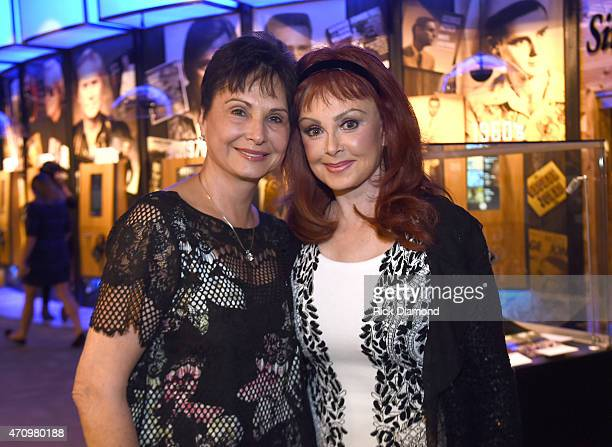 Nancy Jones and Recording Artist Naomi Judd attend Recording Artist and Legend George Jones Museum Grand Opening on April 23 2015 in Nashville...