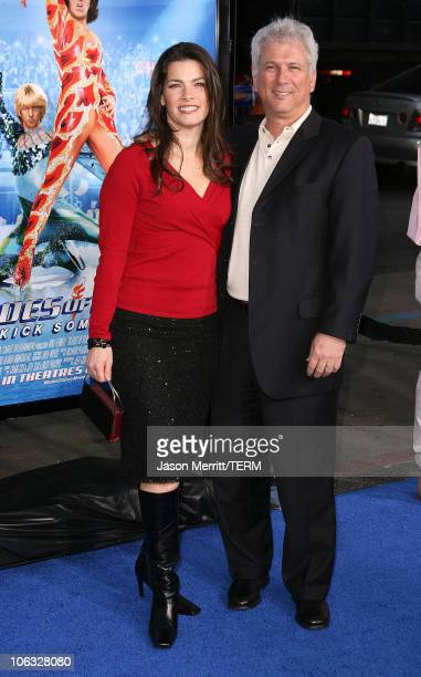 Nancy Kerrigan and husband during 'Blades Of Glory' Los Angeles Premiere Arrivals at Grauman's Chinese Theatre in Hollywood California United States