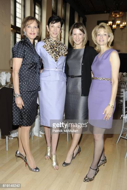 Nancy Lane Amy Fine Collins Lizzie Tisch and Lori Kasowitz attend 10th Annual Spring Luncheon at The 92nd Street Y on March 10 2010 in New York City