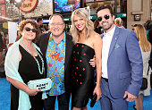Nancy Lasseter Executive producer John Lasseter actress Kaitlin Olson and actor Rob McElhenney attends the world premiere of DisneyPixar's 'Finding...