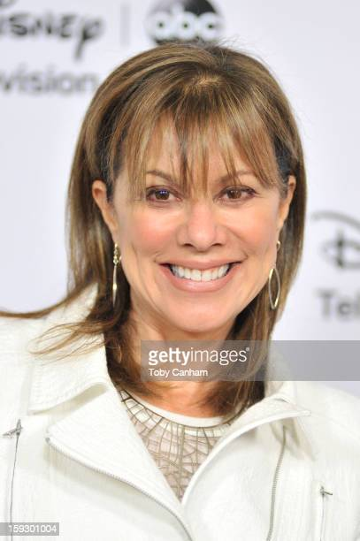 Nancy Lee Grahn arrives for the Disney ABC '2013 WInter TCA Tour' event at The Langham Huntington Hotel and Spa on January 10 2013 in Pasadena...