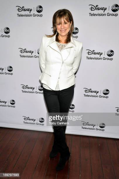 Nancy Lee Grahn arrives for the Disney ABC Television groups '2013 Winter TCA Tour' event at The Langham Huntington Hotel and Spa on January 10 2013...