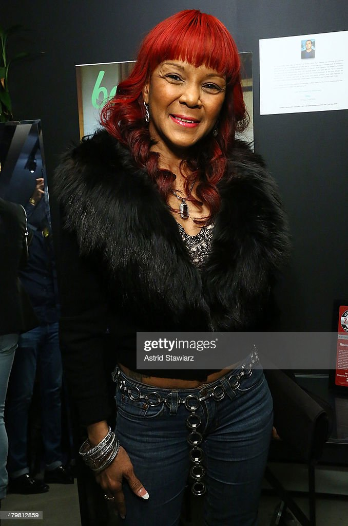 Nancy 'Mama' Jones attends Zulay Henao's Bombshell By Bleu Cover Celebration at House Of Horology on March 20, 2014 in New York City.