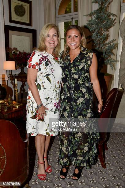 Nancy McKay and Hannah Silver attend Christmas in August with NEST Fragrances on August 2 2017 in New York City