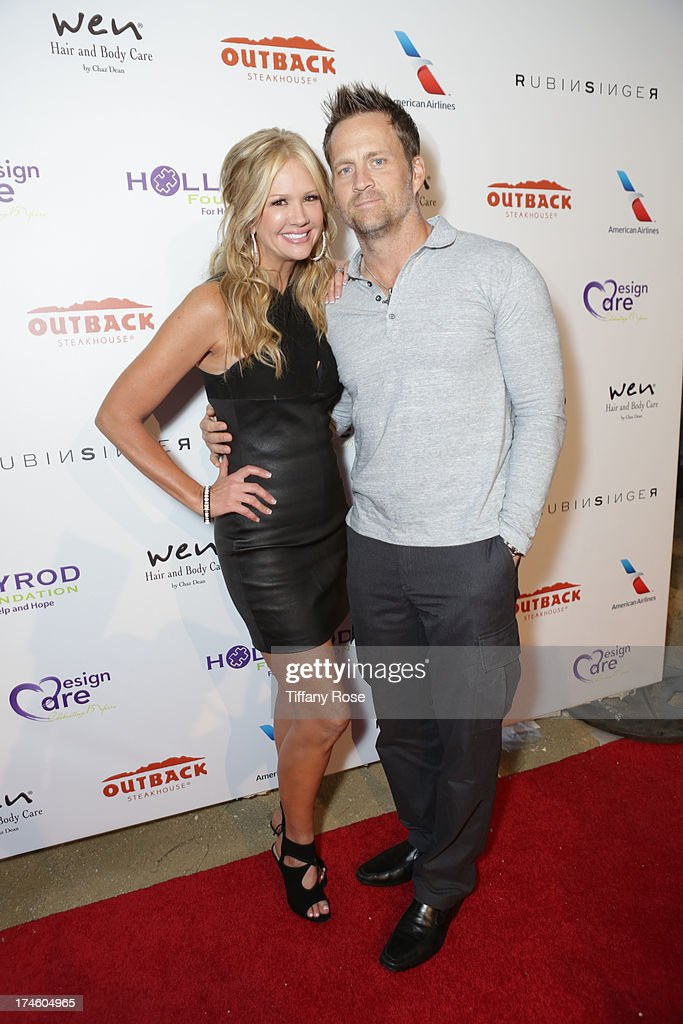 Nancy O'Dell and Keith Zubulevich attend the 15th Annual DesignCare benefiting The HollyRod Foundation on July 27, 2013 in Malibu, California.