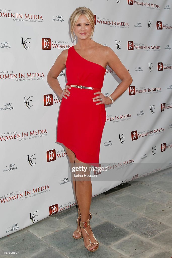 Nancy O'Dell attends the 56th annual Genii Awards at Skirball Cultural Center on April 23, 2013 in Los Angeles, California.