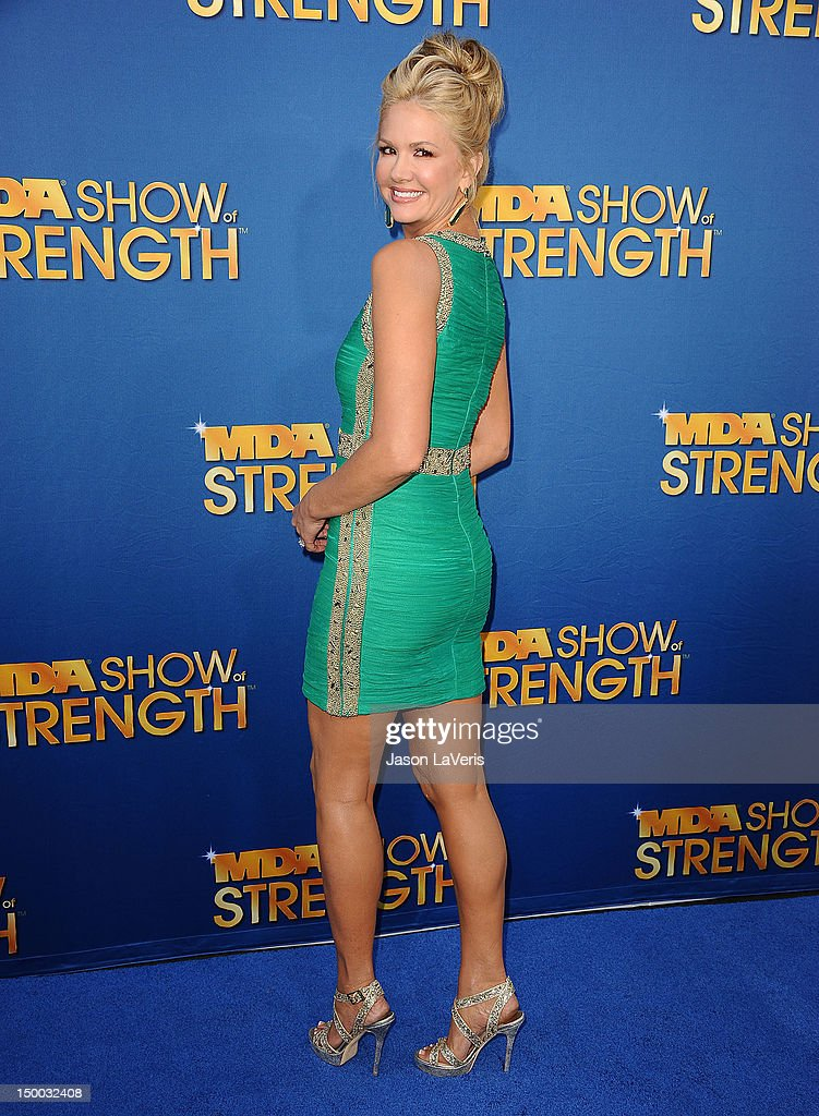 Nancy O'Dell attends the MDA Labor Day Telethon at CBS Studios on August 8, 2012 in Los Angeles, California.