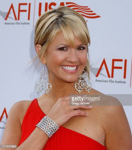Nancy O'Dell during 33rd AFI Life Achievement Award Honoring George Lucas at Kodak Theatre in Hollywood California United States