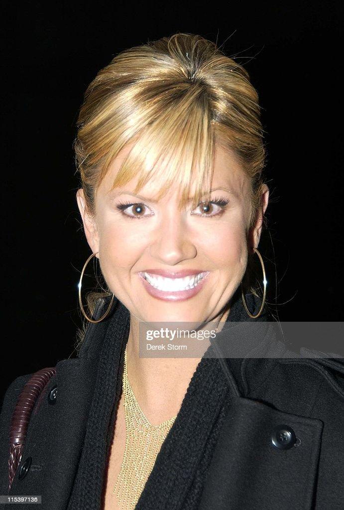 Celebrity Sightings at Rockefeller Center in New York City - December 1, 2005