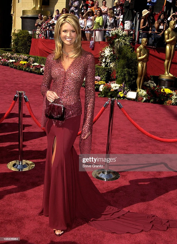 Nancy O'Dell during The 74th Annual Academy Awards - Arrivals at Kodak Theater in Hollywood, California, United States.