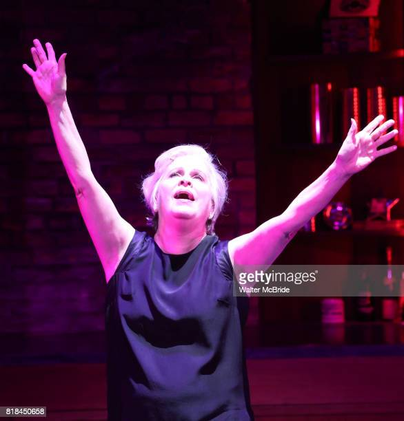Nancy Opel in a press preview of 'Curvy Widow' at the Westside Theatre on July 18 2017 in New York City