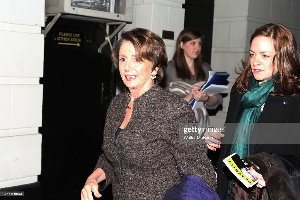 <a gi-track='captionPersonalityLinkClicked' href=/galleries/search?phrase=Nancy+Pelosi&family=editorial&specificpeople=169883 ng-click='$event.stopPropagation()'>Nancy Pelosi</a> and Christine Pelosi attend 'All The Way' opening night at Neil Simon Theatre on March 6, 2014 in New York City.